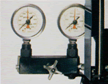 Two gauge manifolds.