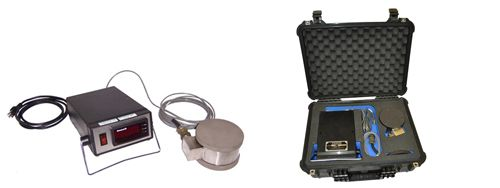 Force Verification Kit includes digital readout and two load plates.